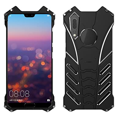 save off 81ae1 1258f Simicoo Huawei P20 Pro Aluminum Metal Bumper Case Military Shockproof Heavy  Duty Armor Rugged Tough Silm Cool Outdoorsport Hybrid Cover For Huawei P20  ...