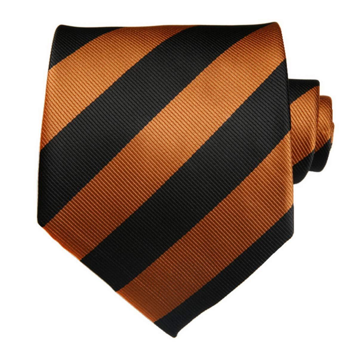 Ties N Such - Corbata - para hombre Naranja Black & Orange Talla ...