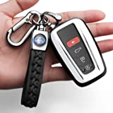 Autophone for Toyota Key Fob Cover with Keychain Soft TPU 360 Degree Protection Key Case Compatible with 2018-2021 Toyota Cam