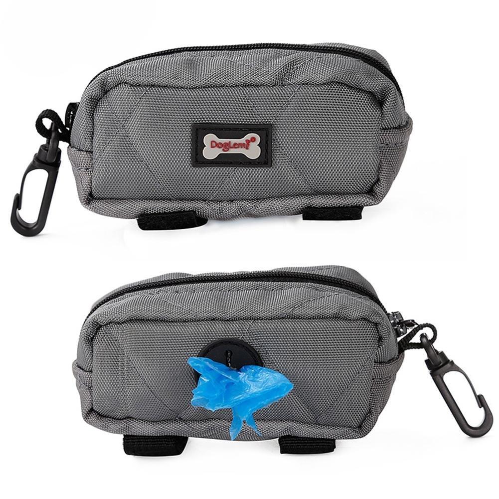 G-lucky Bolsa de Entrenamiento para Perros - Portátil con Gancho Paquete de merienda para Mascotas,Gran Capacidad portabolsas de Caca de Perro