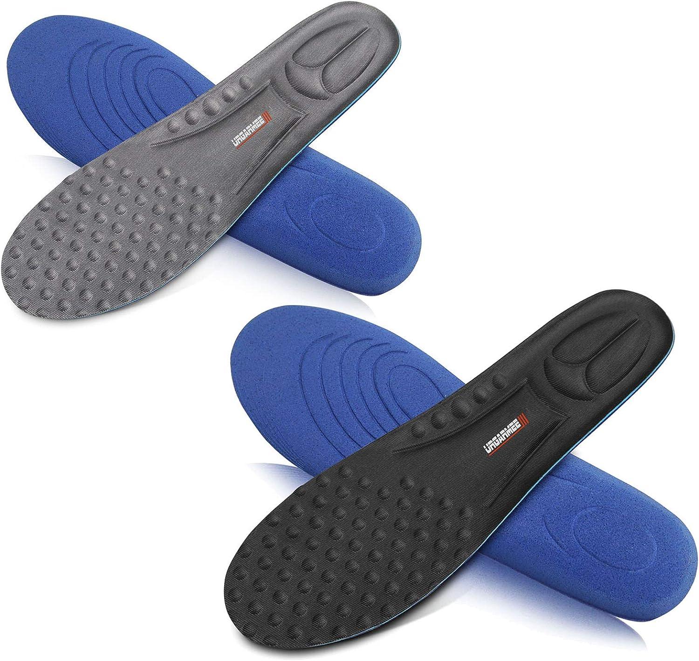 インソール 衝撃吸収 中敷き 靴底 – 消臭 抗菌
