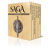 Saga Six Pack – Beowulf, The Prose Edda, Gunnlaug The Worm-Tongue, Eric The Red, The Sea Fight and Sigurd The Volsung (Illustrated)