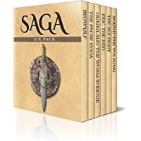 Saga Six Pack – Beowulf, The Prose Edda, Gunnlaug The Worm-Tongue, Eric The Red, The Sea Fight and Sigurd The Volsung…