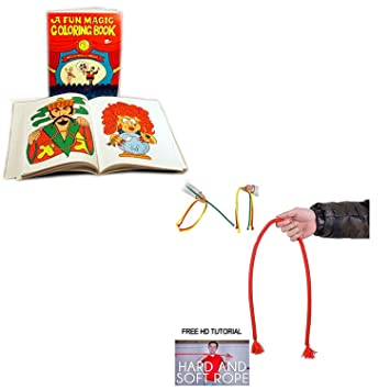 Magic Colouring Book Trick 3 Way And Hard and Soft Rope|Indian Rope ...
