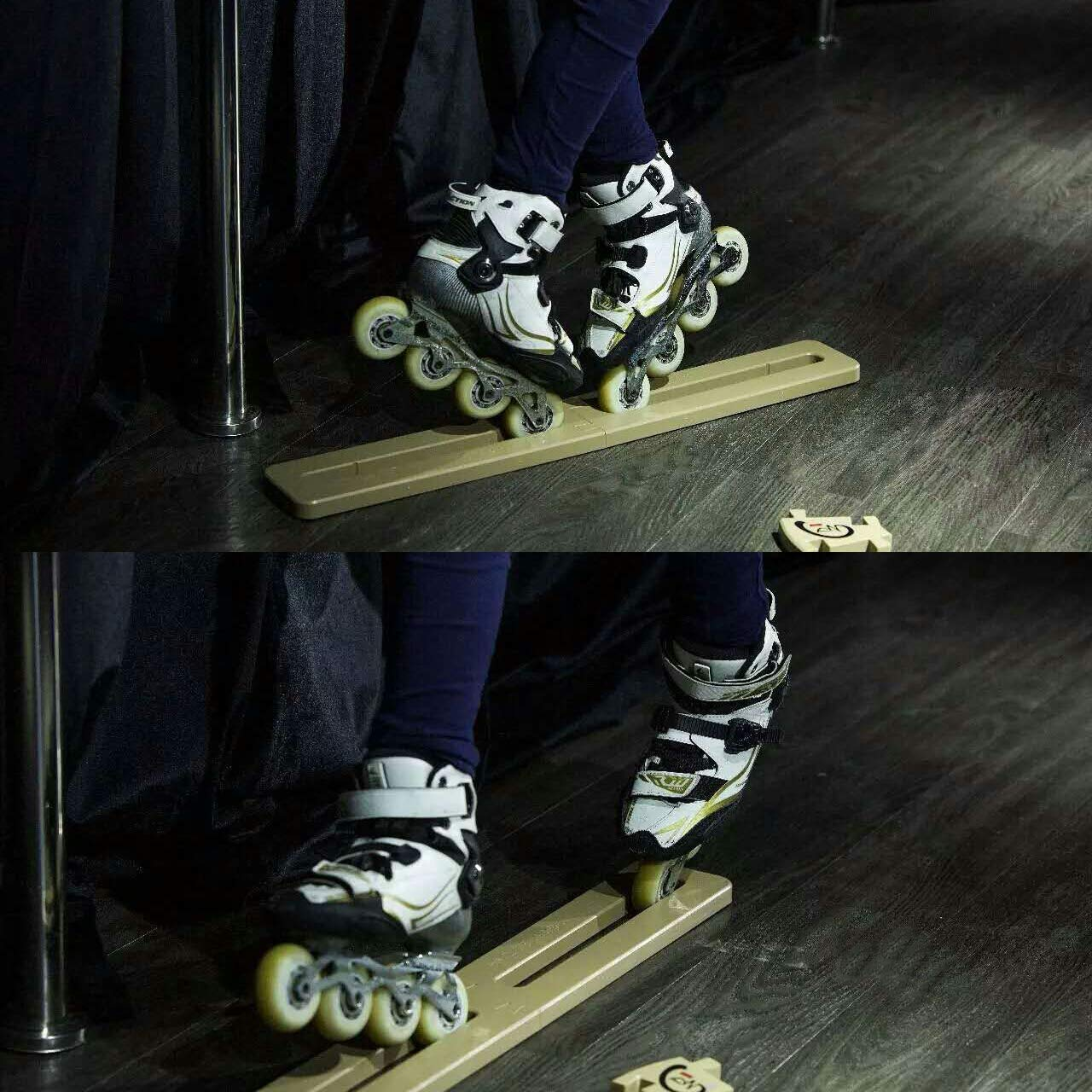 Cupidove Inline Skate Trainer -Stretching Leg Ligament Strengthen Muscle Memory,Help to Master Difficult Skills Quickly by Cupidove (Image #2)