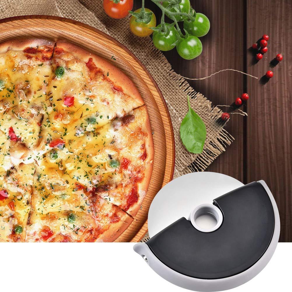 BALANSOHO Stainless Steel Pizza Wheel Pancake Cutter - Pizza Slicer Medium Cake Cutting Kitchen Baking Tool