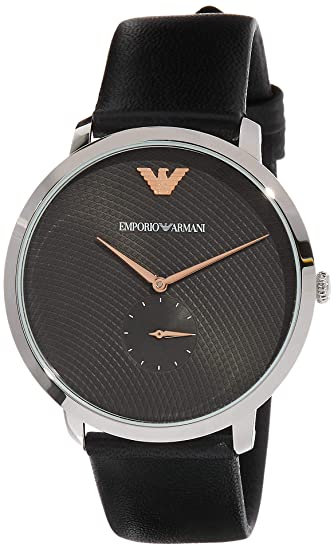 8d2edcbcd3e Buy Emporio Armani Modern Slim Analog Grey Dial Men s Watch - AR11162  Online at Low Prices in India - Amazon.in