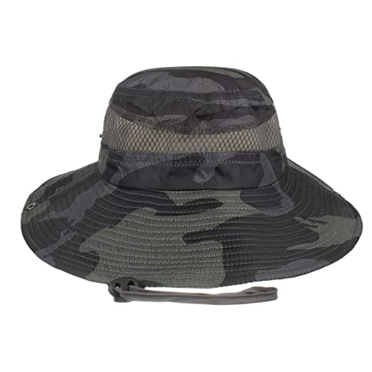 6e3581626cd Image Unavailable. Image not available for. Color  Camouflage Boonie Hat ...