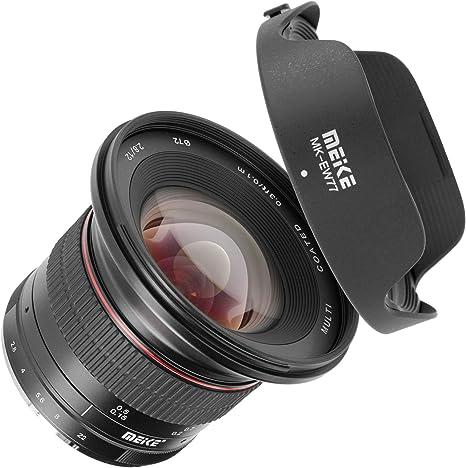 Meike - Objetivo ultra gran angular, enfoque manual para cámaras ...