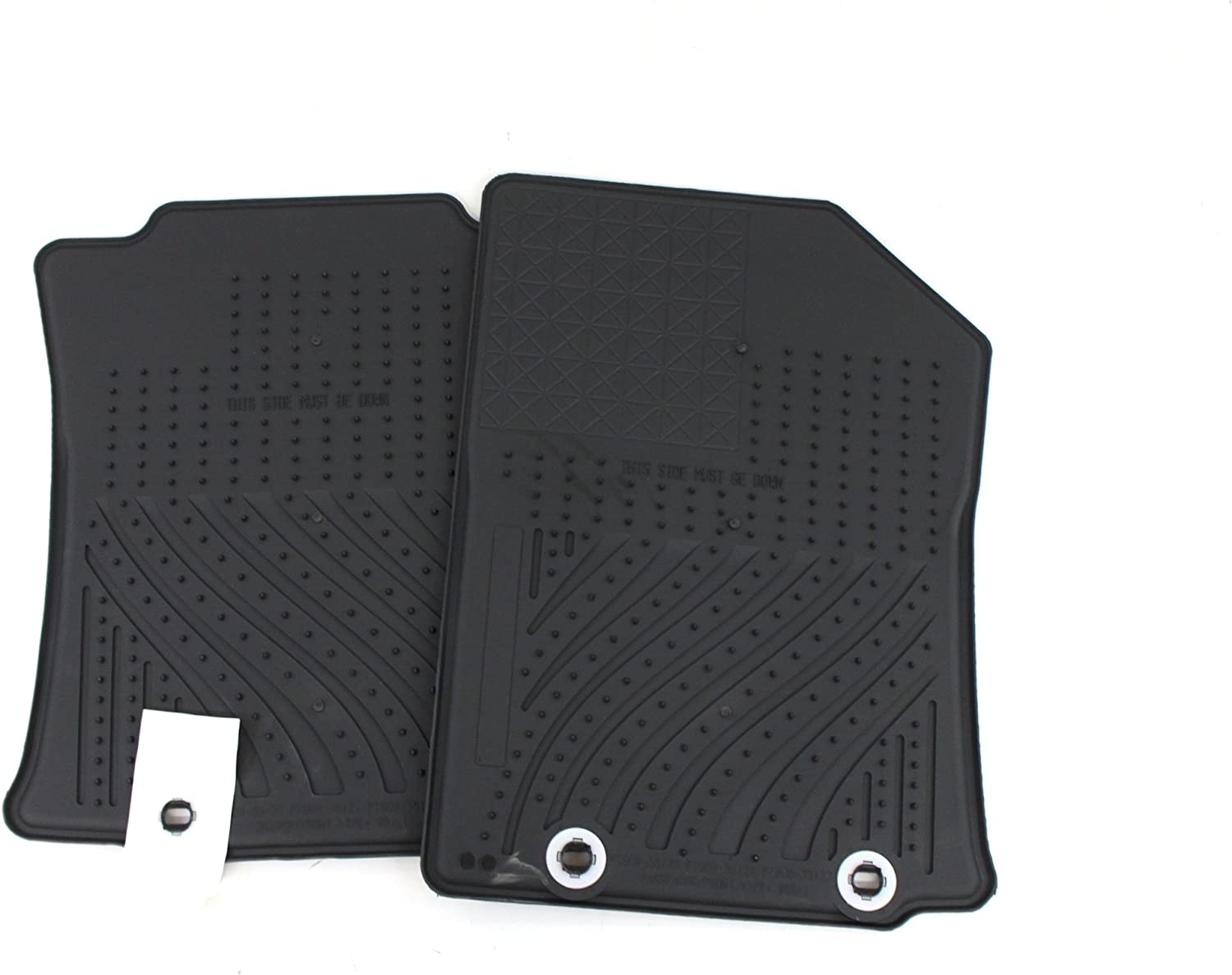 Set of 4 Genuine Toyota Accessories PT908-35122-20 Front and Rear All-Weather Floor Mat Black