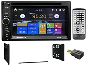 DVD/iPhone/Bluetooth/USB Receiver Stereo For 1999-2004 Ford F-250/350/450/550