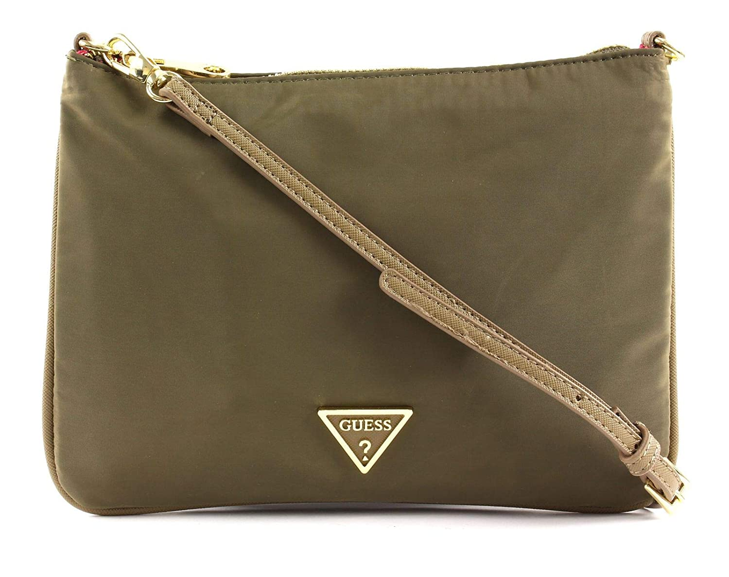 Guess Damen Did I Say 90 Shopper, 24x18x1 Centimeters Grün (Green) PWDIDIP8302