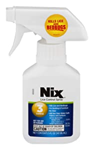 Nix Lice Control Spray | Bedding & Furniture | Odorless & Stainless | 5 FL OZ
