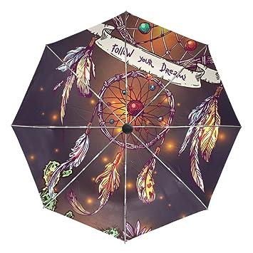 8186c2682f6b BAIHUISHOP Beautiful Boho Style Dreamcatcher Windproof Rain ...
