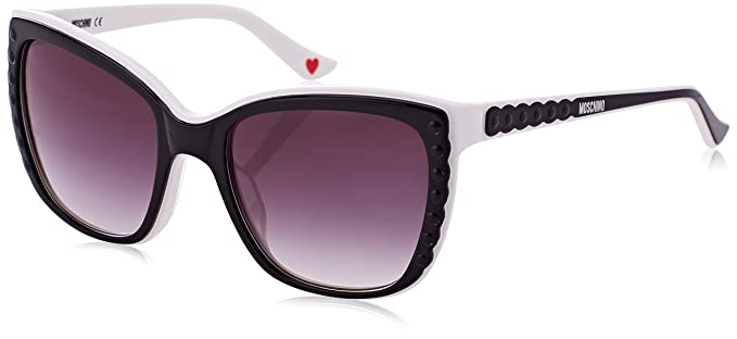 07c9c96623 Image Unavailable. Image not available for. Colour  Moschino Women s  Butterfly Eye Sunglasses