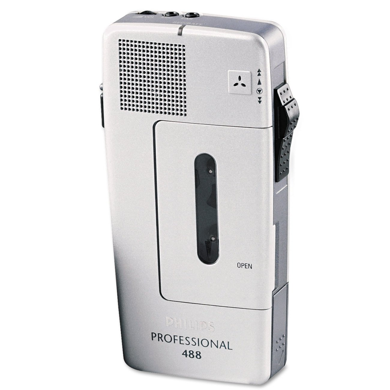 Philips LFH048800B Dictation Recorder Cassette Player Product, Silver
