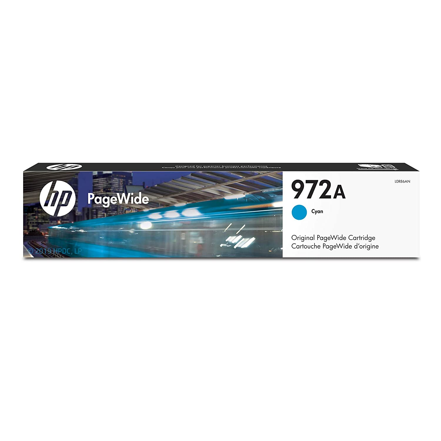 HP 972A | PageWide Cartridge | Cyan | L0R86AN