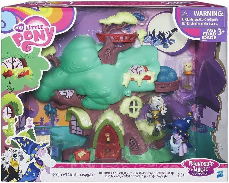 /Friendship is Magic Collection Twilight Sparkle Golden Oak Library My Little Pony/ /B5366/