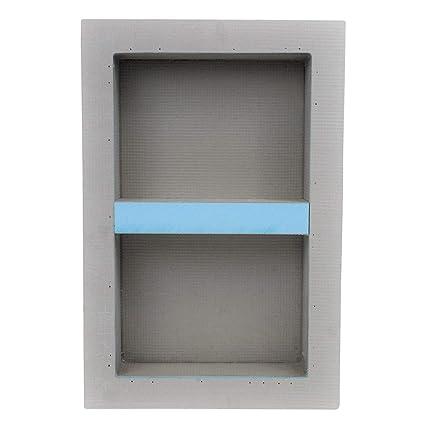 Houseables Shower Niche, Insert Storage Shelf, 12 X 20 Inch, Leak Proof