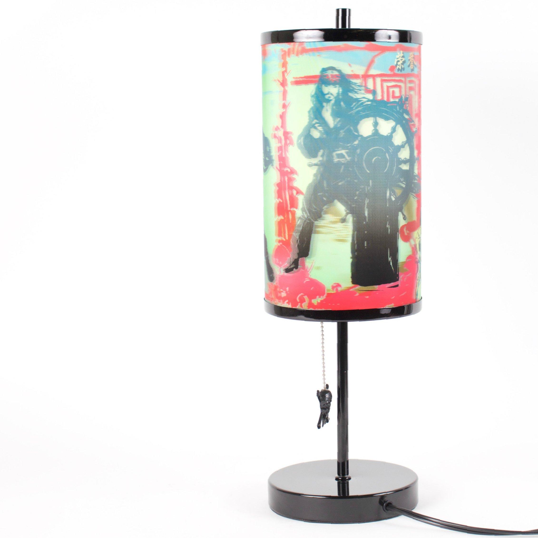 Pirates of the Caribbean 3D Magic Image Lamp