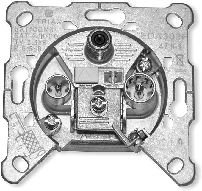 Triax FS 302 F 3-Loch Satelliten-Filter-Antennendose