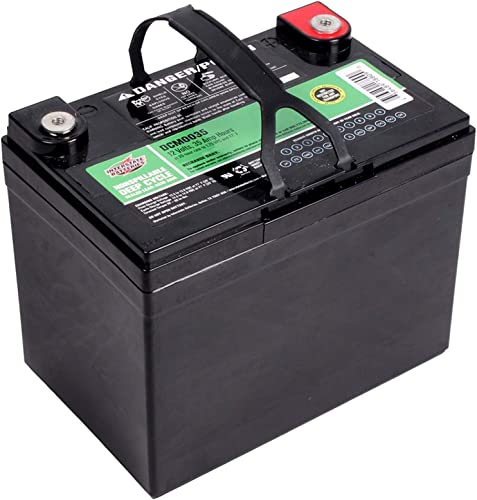 Interstate Batteries 12V 35Ah (SLA) AGM Deep Cycle Battery (DCM0035)