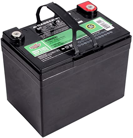 Interstate Deep Cycle AGM Battery