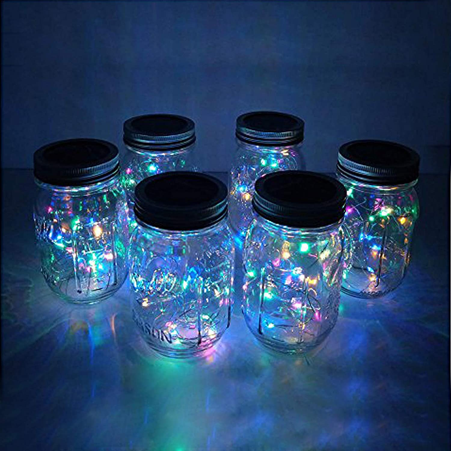 Centerpieces Great for Mason Jars 20-inch fairy lights with 10 LEDs per line Short Fairy Lights Wedding Lights