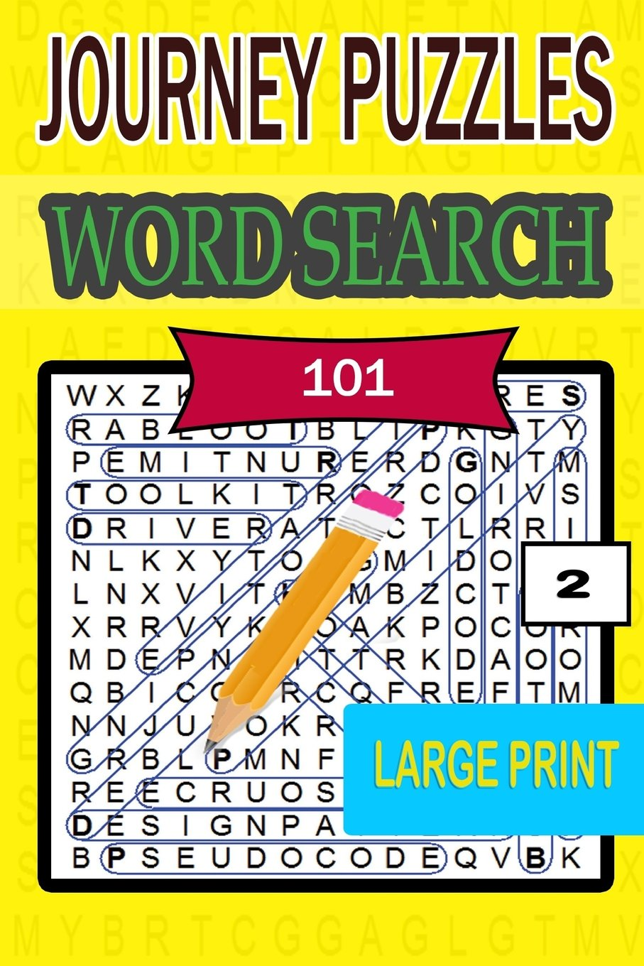 Read Online Journey Large Print Word Search Book  2 (Volume 2) pdf