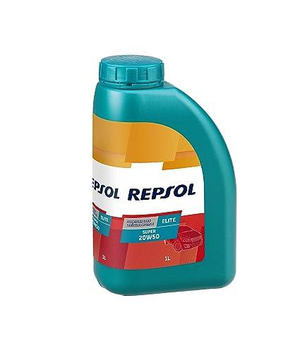 Repsol RP138Q51 Elite Super 20W-50 Aceite de Motor para Coche, 1 L