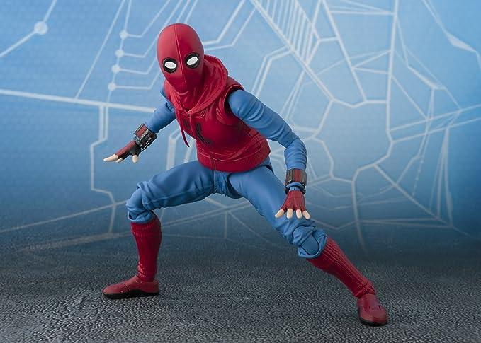 Spider-Man Homecoming S.H. Figuarts Action Figure Spider-Man Homesuit    Option A  Amazon.com.mx  Juegos y juguetes ddeef918857