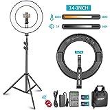 400W Entspricht Neewer/® 14// 35cm Faltbare Fotografie-Video-Licht Softbox Diffusor f/ür 50W Ring-Licht-Blitzlicht