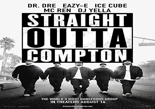 NWA STRAIGHT OUTTA COMPTON ICE CUBE DR DRE EAZY E GIANT WALL ART PHOTO POSTER