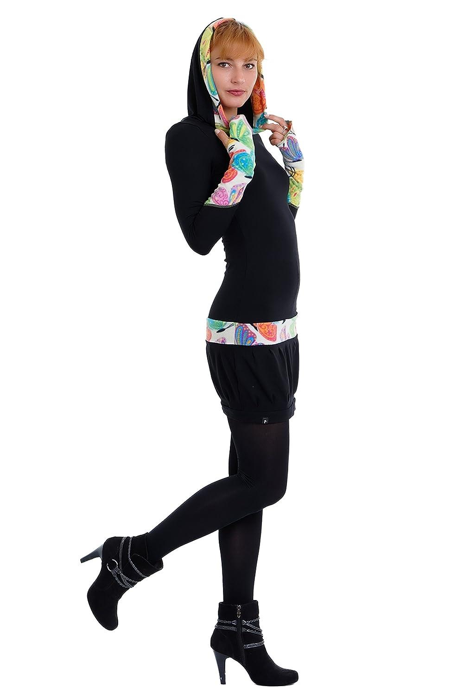 b7e5f8b69f9e19 3Elfen Gotico Abito con Cappuccio Donna Casual con Pile Abiti Streetwear   Amazon.it  Abbigliamento
