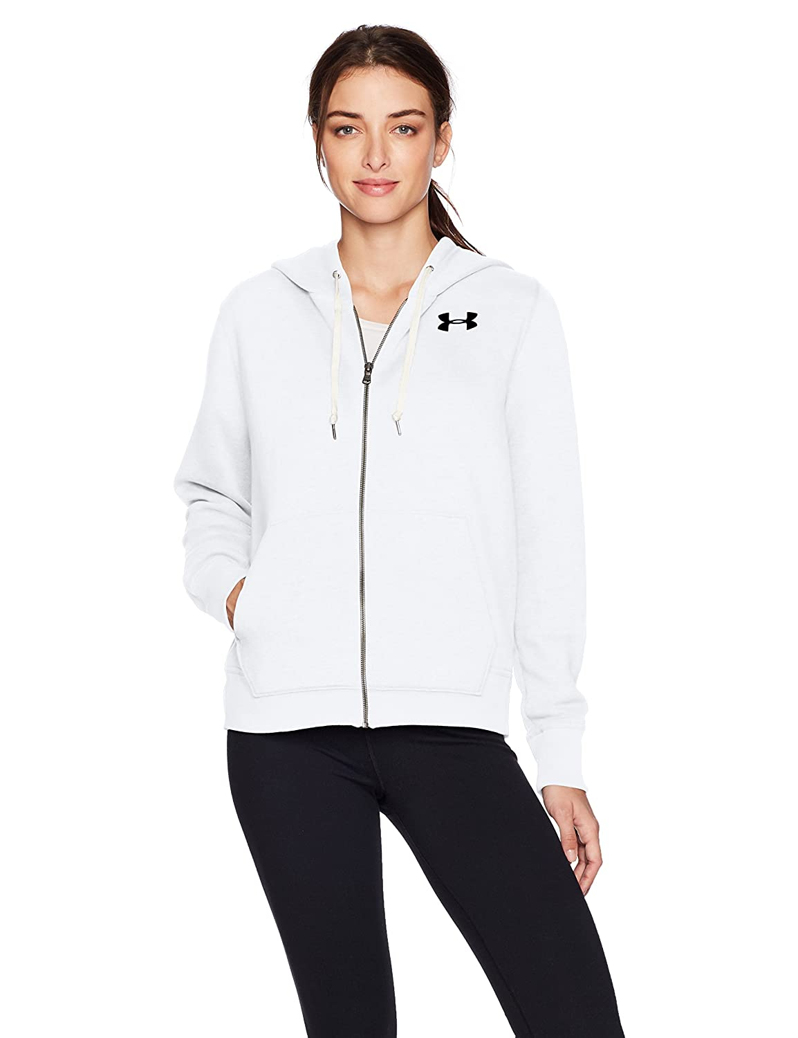 Under Armour Womens Favorite Fleece Full Zip Under Armour Apparel 1298415