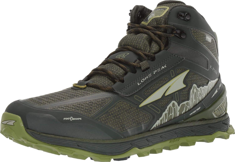 ALTRA Lone Peak 4 Mid RSM - Zapatillas de correr impermeables para hombre: Amazon.es: Zapatos y complementos