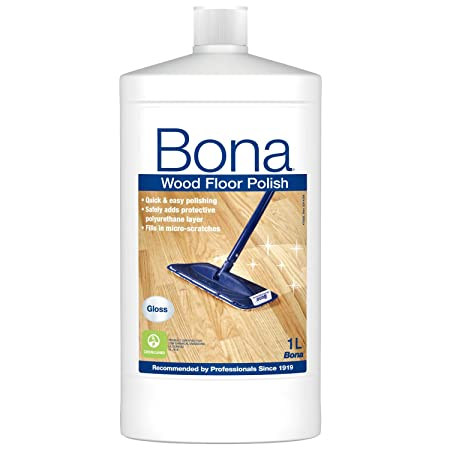 Bona Wood Floor Polish Gloss 1lit Wp511013011 Amazon Diy
