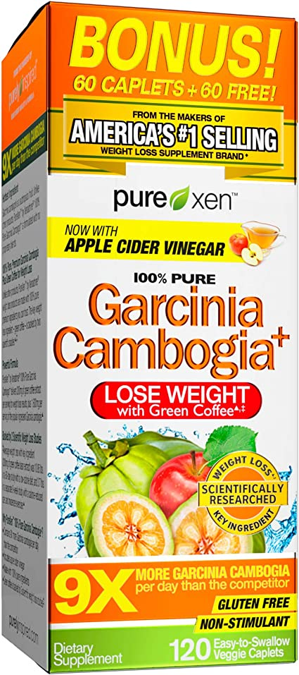 Amazon Com Purely Inspired 100 Pure Garcinia Cambogia Extract With Hca Extra Strength Weight Loss 120 Count