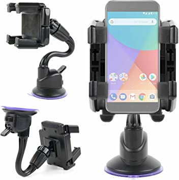 DURAGADGET Soporte De Coche para Smartphone Xiaomi Mi A1: Amazon ...