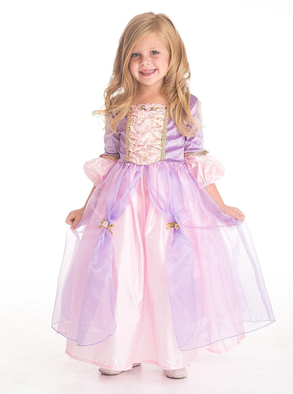 Little Adventures Classic Rapunzel Princess Dress Up Costume for Girls