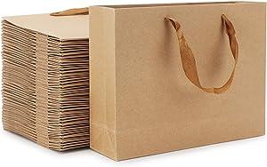 Gift Bags with Handles, Eusoar 50pcs 12.5