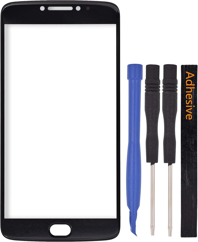 Pantalla de vidrio para Motorola Moto E4 Plus (Negro)