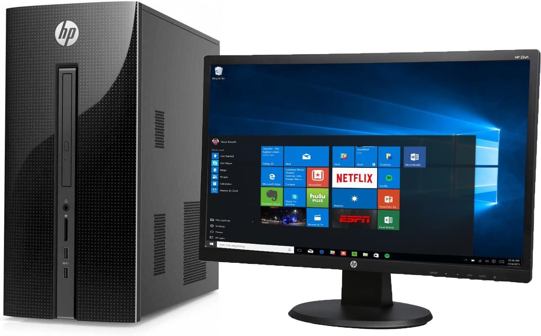 "HP 251-A123WB Pentium J2900 Quad-Core 2.41GHz 4GB 1TB Mini-Tower & 21.5"" Monitor"