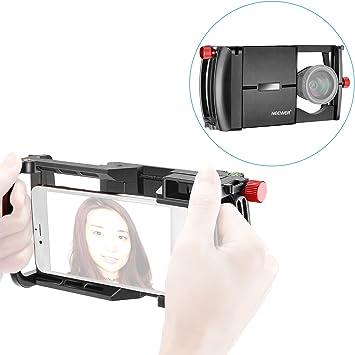 Neewer Smartphone Cámara Rig Sistema con Adaptador de Lente 37MM ...