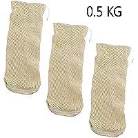 EUROXANTY-Malla Textil de Cocción - Bolsa para Legumbres - 0.5 Kg - 1Kg -