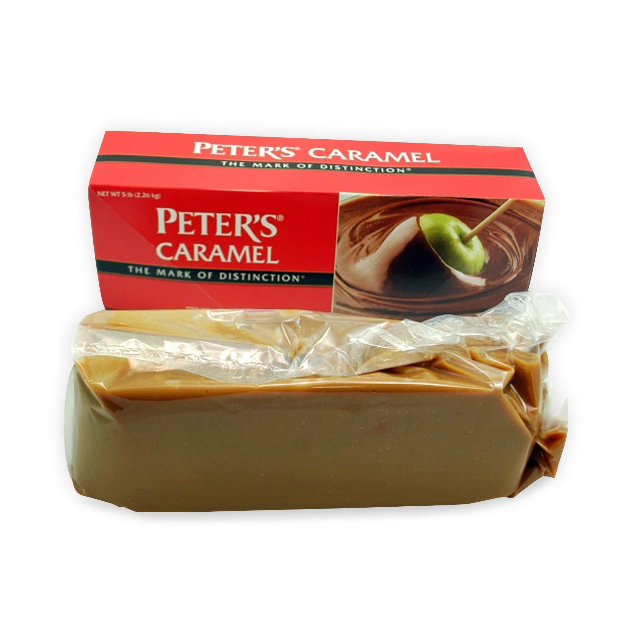 Peter's Creamy Caramel, 5 Lb. Block (Pack of 4)