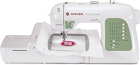 Singer Futura XL-400 máquina de coser portátil y 125 máquina de ...