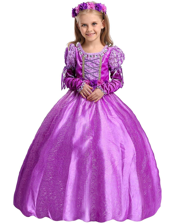 XINSH Disfraz de Princesa Sofía Traje del Vestido Princesa ...