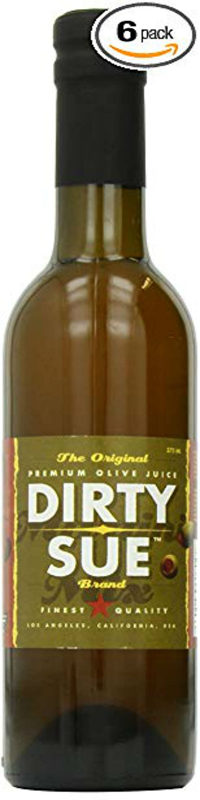 6-Pack Dirty Sue Premium Olive Juice Martini Mix 375ML (12.69oz) by Dirty Sue