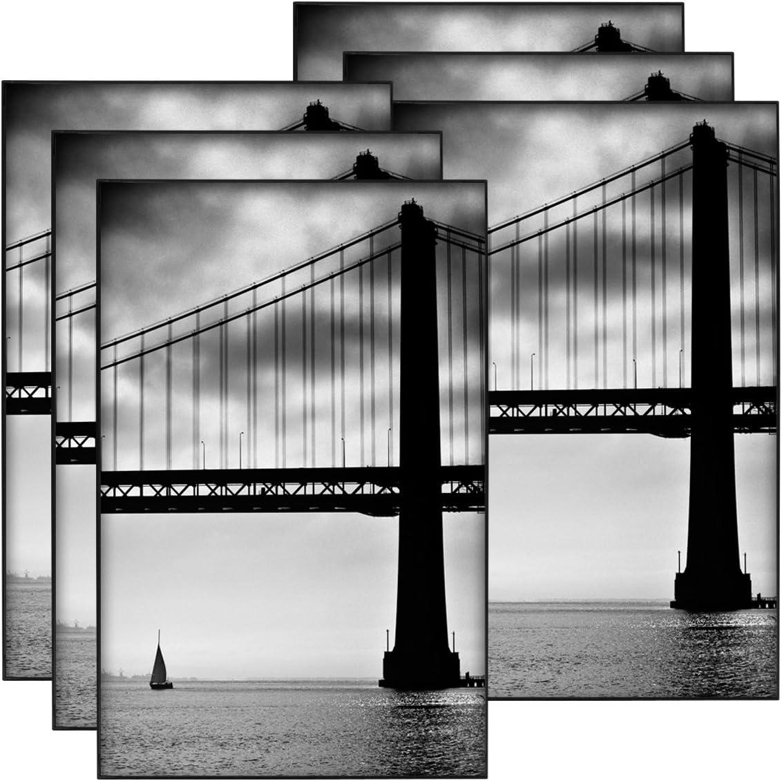 Black 11 by 17-Inch MCS 65637 Format Frame 6-Pack